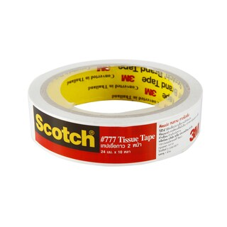 Double Coated Tissue Tape 24 mm.x10y. สก๊อตช์