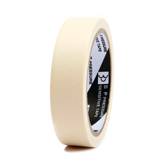 """Masking Tape Core 3"""" 1""""x24 y. ใบโพธิ์"""