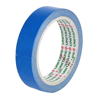 "Colored Masking Tape Core 3"" 1""x20 y. Blue ยูนิเทป"