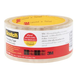 OPP Tape 48 mm.x40 m. Clear Scotch 3609
