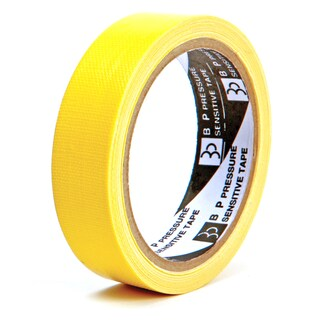 "Cloth Tape 1""x8y Yellow ใบโพธิ์"