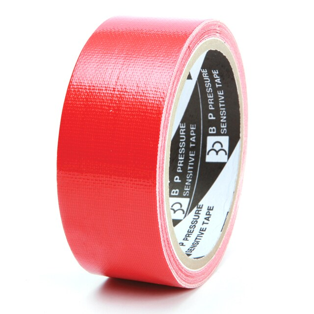 "Cloth Tape 1.5""x8y. Red ใบโพธิ์"