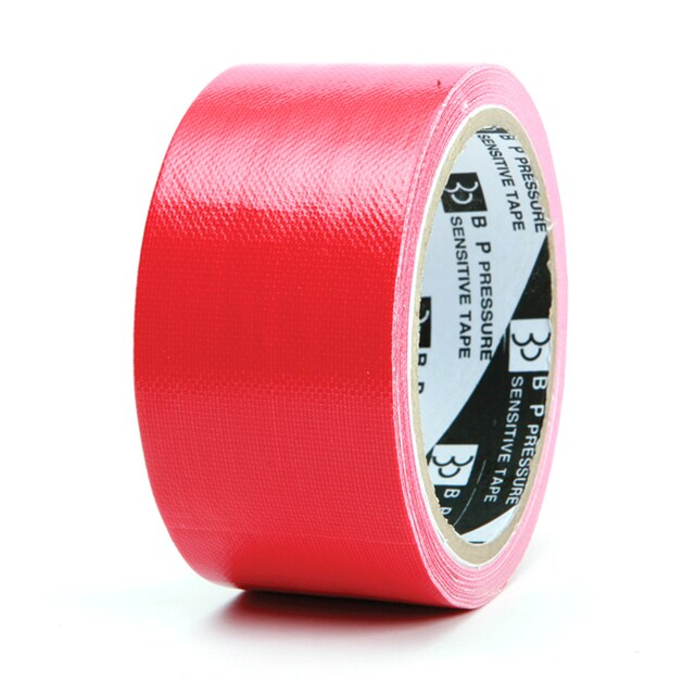 """Cloth Tape 2""""x8y. Red ใบโพธิ์"""
