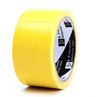 "Cloth Tape 2""x8y. Yellow ใบโพธิ์"