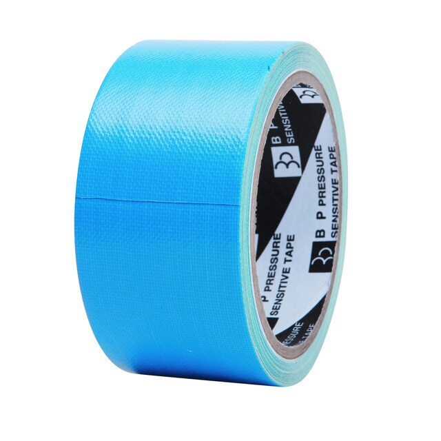"Cloth Tape 2""x8y. Sky-Blue ใบโพธิ์"