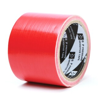 "Cloth Tape 3""x8y. Red ใบโพธิ์"