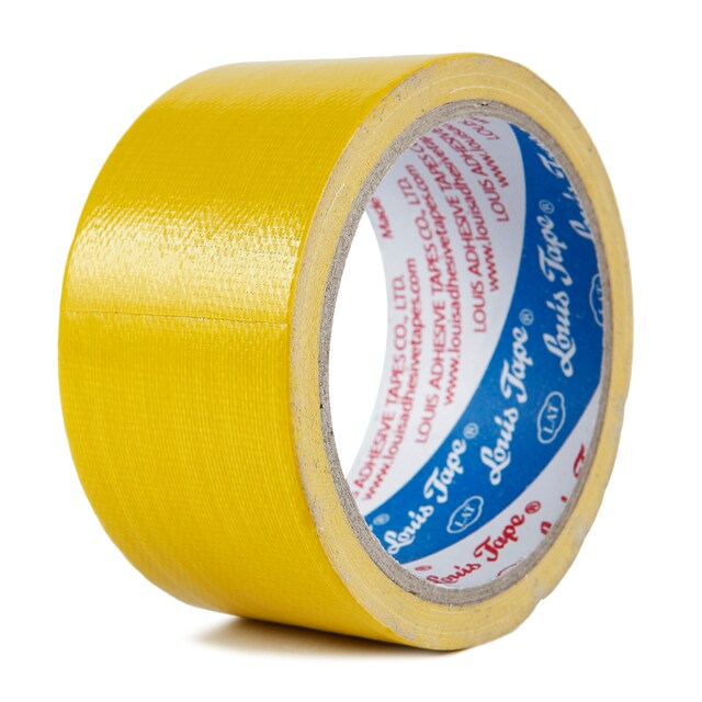 "Cloth Tape 2""x8 y. Yellow หลุยส์"