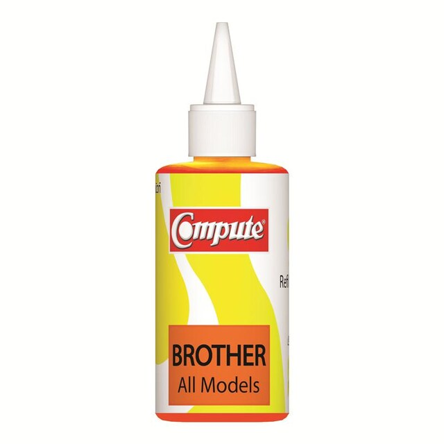For Brother LC-39 Ink Cartridge Yellow 120 cc. คอมพิวท์