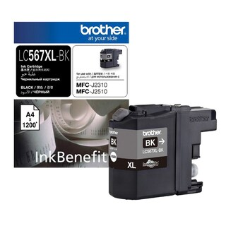 LC-567XL BK Inkjet Cartridge Black Brother