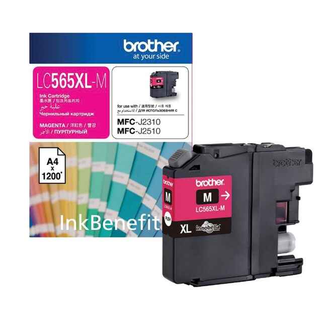 LC-565XL M Inkjet Cartridge Magenta Brother