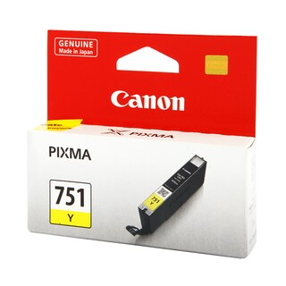 Canon CLI-751Y Inkjet Cartridge Yellow