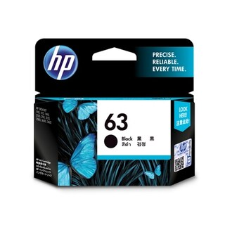 Ink Cartridges Black HP 63/BK
