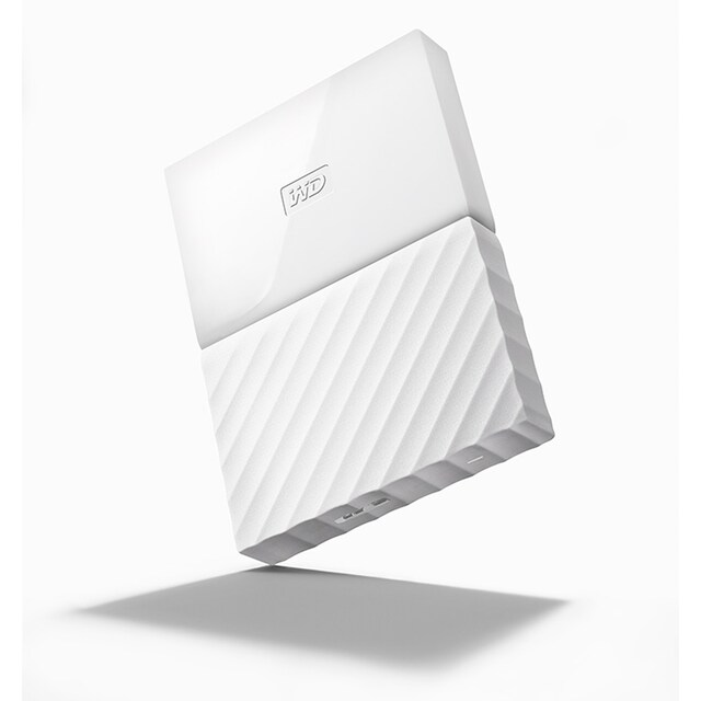WD NEW MY PASSPORT 1TB External Harddisk White