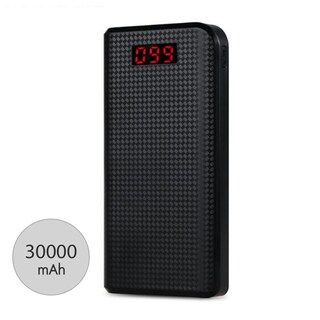 Remax 30000LCD Power Bank 30000mAh Black