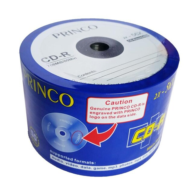 CD-R 700 MB P50(NOBOX) Princo e