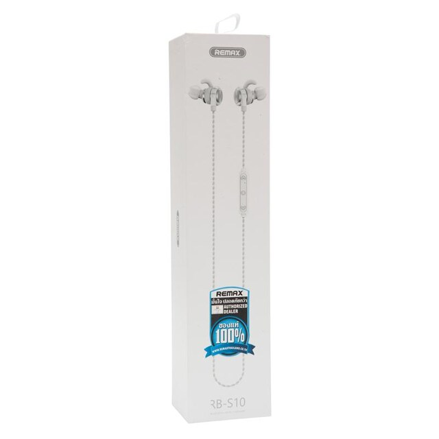 Remax RB-S10 Bluetooth Headset White