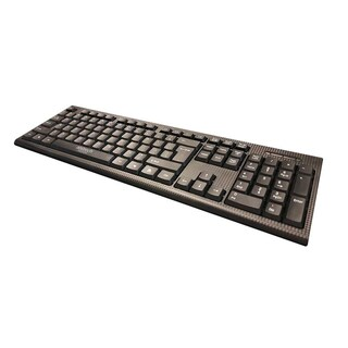 Keyboard Black Anitech P202
