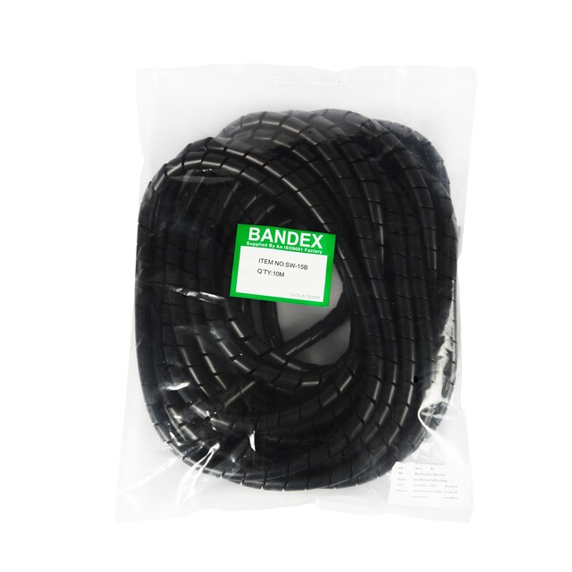 Storage Cables Type Spiral 15 mm. Black SW-15B