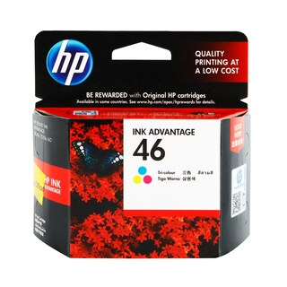 46 (CZ638AA) Inkjet Cartridge Tri-color HP