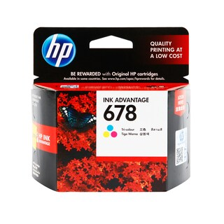HP 678 CZ108AA Inkjet Cartridge Tri-color