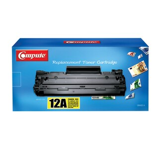 Compute Toner Cartridge for HP-12A BK