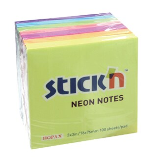 Self-Adhesive Notes Asst. (7/Pack) Stick N EP-30307-N