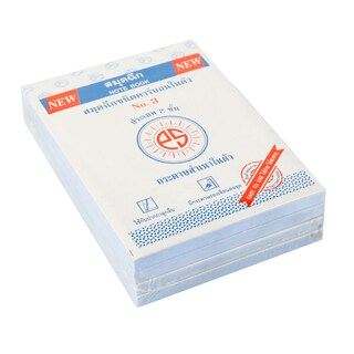 Carbon Note Pad No.3 7.62x10.16 cm. 2 Ply 40 Sheets (4/Pack) PS Sun PB0306