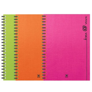 Binding Wire Notebook A5 70gsm. Asst. Colors (150Sheets/Book) Elephant WP-103