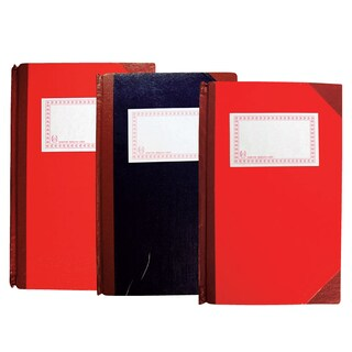 Hard Cover Accounting Book 21x32cm. 100gsm. 3Columns Single Pages (50Sheets) 777