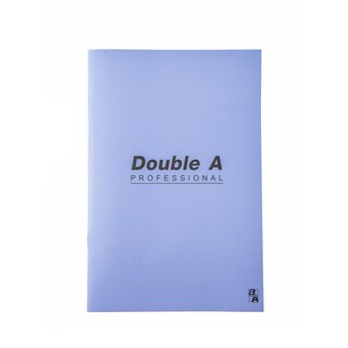 Notebook 16x23.8cm. 70gsm. Violet Double A Professional