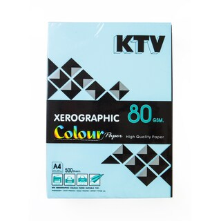 Colour Copier Paper A4 80 gsm. Dark Blue (500/Pack) KTV