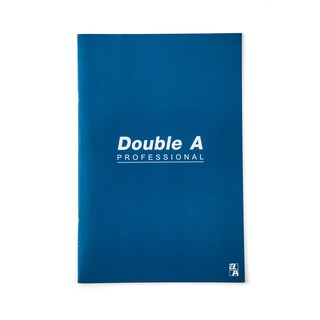 Notebook 16x23.8cm. 70gsm. Blue Double A Professional