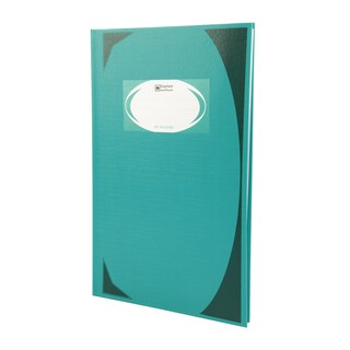 Hard Cover Book 21x32x1.4cm. 70gsm. Green (3Books/Pack) ตราช้าง