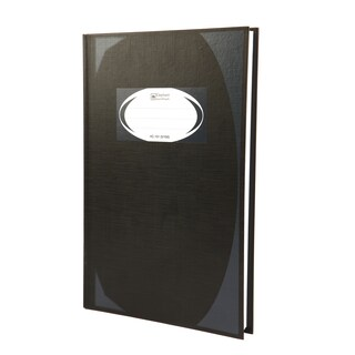 Hard Cover Book 70 gsm. Black (3Books/Pack) Elephant HC-101