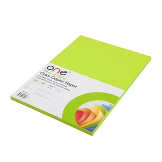 Colour Copier Paper 19 Reflective Green (100Sheets) ONE