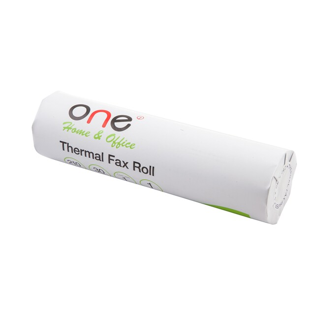 Thermal Fax Roll 210mm.x30yards 58gsm. (1inch core) ONE