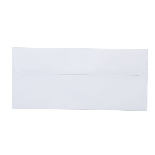 White Envelope 4-1/4x9-1/8 100gsm. 9/125 ONE