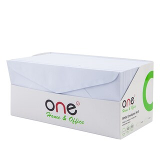 White Envelope 9 100gsm. (250/Pack) ONE