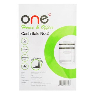Cash Sale No.2 2 Ply (4 Books/Pack) ONE Home&Office