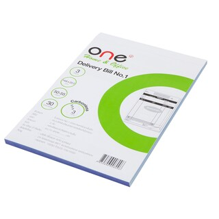 Carbonless Delivery Bill Book 3 Ply ONE