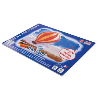 Watercolour Pad 11x15 inch 190 gsm. (15 Sheets/Book) Canson 600688