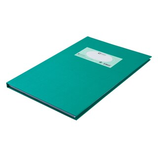 Hard Cover Notebook 70 gsm. 5/100 Green Elephant HC104R