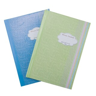 777 Hard Cover Notebook Cut5 70gsm. 100Sheets 2Books/Pack