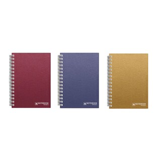 Wirebound Hard Cover Notebook A5 Asst. Colors Elephant WHC-302