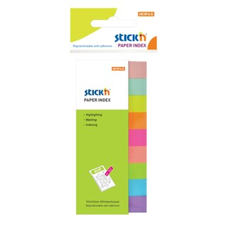 Self-Adhesive Notes Asst. Colors Stick N 21689