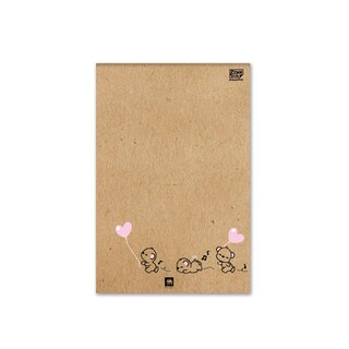 Report Pad A4 70gsm. Fancy (30Sheets/Book) Elephant PFC-101T