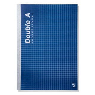 Double A Professional Lecture Glued Notebook A5 70gsm. Blue 40Sheets