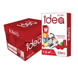 Idea Work Copier Paper A4 80gsm. (5Reams/Pack)