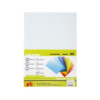 1 Color Copier Paper A4 80gsm. Blue (500/Pack)