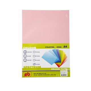 15 Color Copier Paper A4 80gsm. Dark Pink (500/Pack)